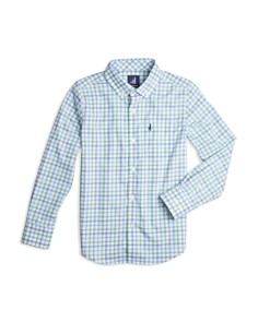 Johnnie-O - Boys' Gaffton Plaid Button-Down - Little Kid, Big Kid